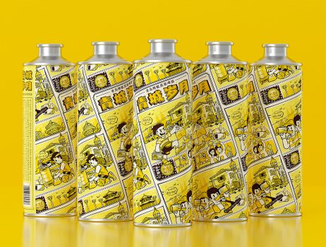 青城岁月精酿原浆啤酒包装设计 Packaging Design of Qingcheng Years' Craft Brewed Puree Beer